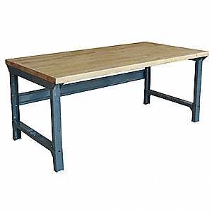 Super Bolted Workbench Butcher Block 30 Depth 30 3 4 To 34 3 4 Height 48 Width 4000 Lb Load Capa Andrewgaddart Wooden Chair Designs For Living Room Andrewgaddartcom