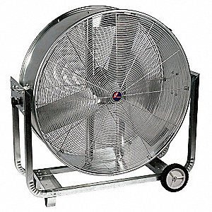"24"" Commercial Mobile Non-Oscillating Air Circulator"