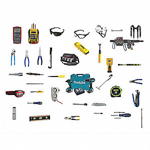 Communications Tool Kit, Number of Pieces:  41, Application:  CATV/Satellite Service