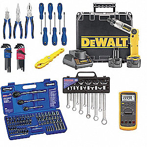 General Hand Tool Kit, Number of Pieces:  159, Application:  Caterpillar Service