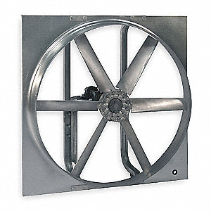 Reversible Fan,36 In,115/208-230 V,1 HP