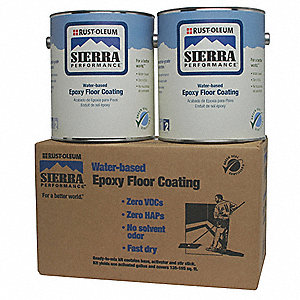 S40 Floor Coating Kit,1 gal,Clear