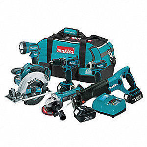 Cordless Combo Kit W Battery,18V