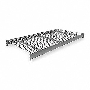 "72"" x 36"" Additional Shelf Level, Medium Gray&#x3b; For Use With Heavy Duty Bulk Storage Rack"