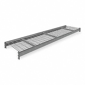 "Shelf,24""D,96""W,GalvanizedWireDecking"