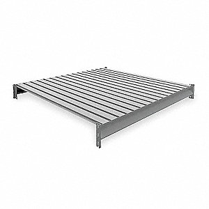 "48"" Additional Shelf Level, Medium Gray&#x3b; For Use With Heavy Duty Bulk Storage Rack"