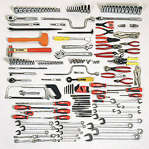SAE Facility Maintenance Tool Set, Number of Pieces: 165, Primary Application: Preventative Maintena