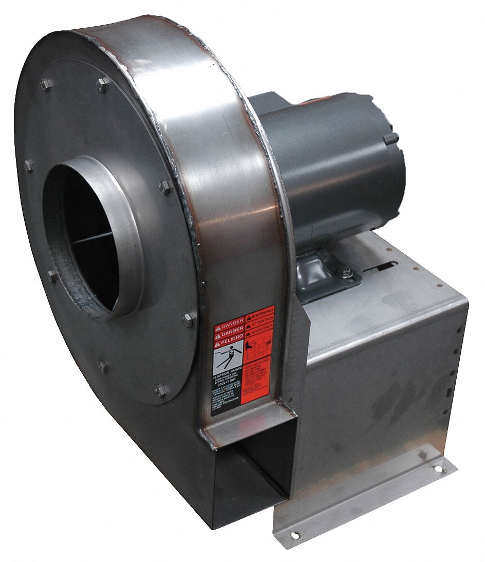 3/4 HP High Pressure Blower With Motor, 9
