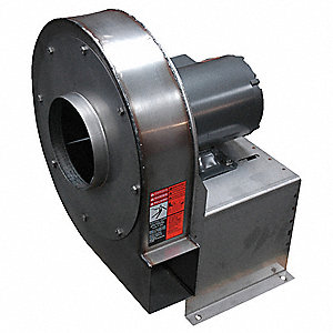 High Press Blower,208-220/440,1-1/2 HP