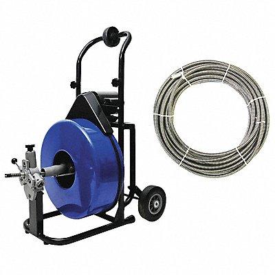 7DD56 - Drain Cleaning Machine 3/4x100 5/8x125