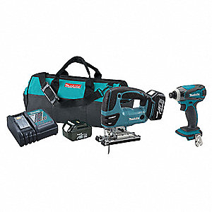 Cordless Jig Saw with Impact Driver