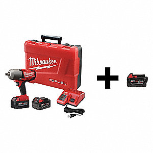 Impact Wrench with Add Battery,18V