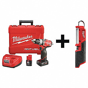 "M12 FUEL Brushless Li-Ion 1/2"" Cordless Drill/Driver Kit, Battery Included"