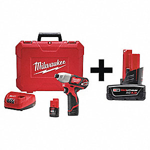 Cordless Impact Driver Kit,Soft Grip