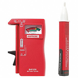 Voltage Tester with Battery Tester