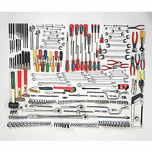 SAE Master Tool Set, Number of Pieces: 259, Primary Application: General Purpose