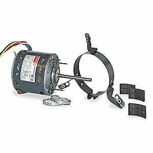 1/2 HP Direct Drive Blower Motor, Permanent Split Capacitor, 1075 Nameplate RPM, 208-230 Voltage