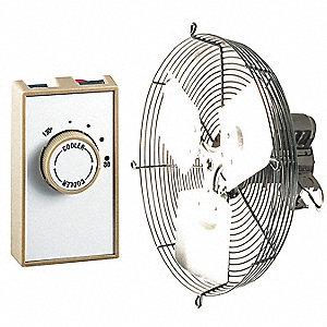 Dayton Attic Ventilator Gable Mount 115v 16 Quot Dia 7f666