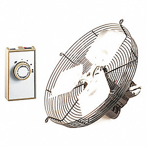 Ventilator,Gable Mount,12 In,120 V