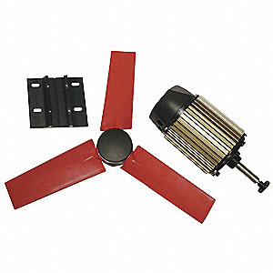 Exhaust Fan Kit,22 In Dia,5450 CFM,120 V