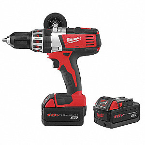 "Li-Ion 1/2"" Cordless Drill/Driver Kit, Battery Included"