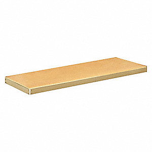 Shelf Kit,48 in. W,12 in. D,Tan