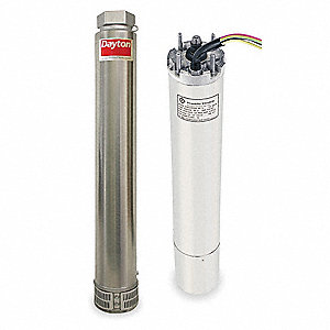 5 HP Stainless Steel Deep Well Submersible Pump/Motor, 60 GPM