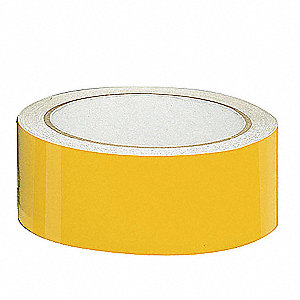 "Reflective Marking Tape, Striped, Roll, 3"" x 30 ft., 1 EA"