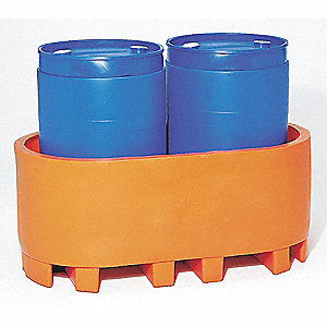 Two Drum Spill Container,Orange