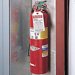 "Aluminum Laminated Cardstock Fire Extinguisher Inspection Inspection Tag, 5"" Height, 3"" Width"