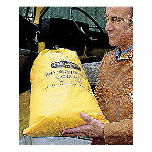 "Oil Only / Petroleum Vehicle Spill Kit, 22""L x 10""W x 15""H Vinyl Bag"