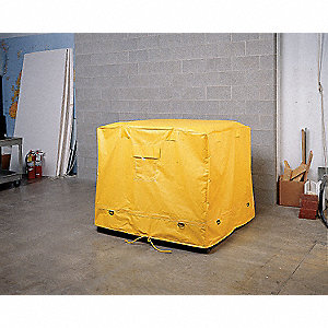 Containment Tarp, 29-3/8 In. W, Yellow