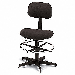 Task Chair with 250 lb. Weight Capacity, Black