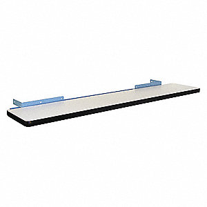 Upper Shelf,60 W x 12 D x 3/4 H,Sky Blue