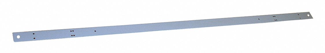 Electrical Supply Mounting Rail,  Steel,  1 3/4 in Height,  72 in Width,  1 1/2 in Depth