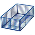 LABORATORY BASKET 3.5X6X14 COATED STEEL