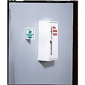 "Universal / Maintenance Spill Control Double Station, 30-1/4""H x 30""W x 9-1/2""D Wall Mounted Cabinet"