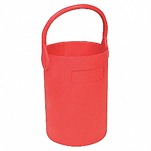 Bottle Carrier,Safety Tote,16 in.,Red