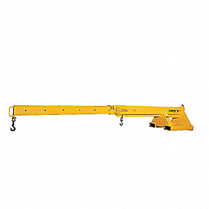 Telescoping Pivoting Forklift Boom, 4000 lb.