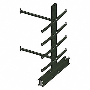 Add-On Cantilever Rack,96 In. H,65 In. L