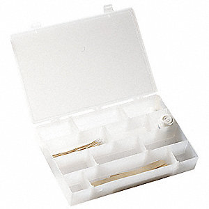 Compartment Box,6-12 Compartments,Clear