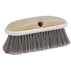 "8""L Polypropylene Replacement Brush Head Scrub Brush, Not Included"