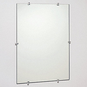 "24""H x 18""W Frameless Mirror"