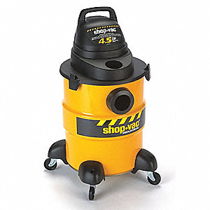 6 gal. Industrial/Commercial Wet/Dry Vacuum, 4.5 Peak HP, 120 Voltage