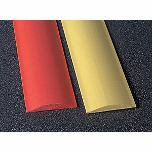 "Rumble Strip, Thermoplastic Alloy, 6 ft. x 1/2"" x 4"", Red, 2500 psi"