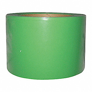 Barricade Tape,Green,200 ft x 3 In