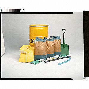 Spill Kit,85 gal.,Drum