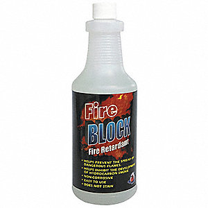 Fire Retardant Spray, Size: 32 oz.