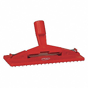 "Red Pad Holder, Length 9"", Width 3-3/4"", 1 EA"