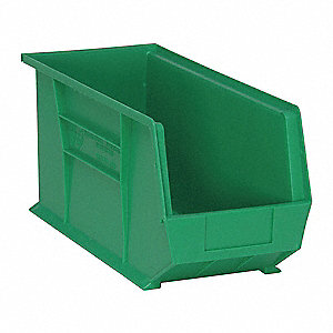 Hang and Stack Bin,18 In L,8-1/4 In W